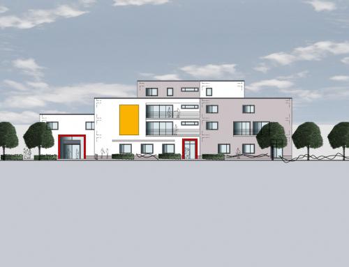 Neubau eines Orthopädiezentrums und betreutes Wohnen Roßbachstr. 1 44369 Dortmund